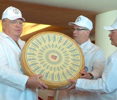 Swiss Gruyere wins World Champion Cheese title