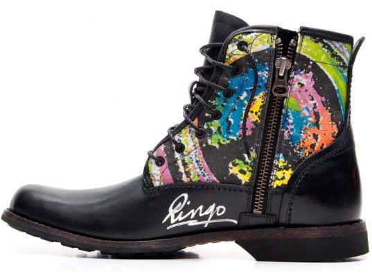 Beatles legend designs boot to benefit WaterAid