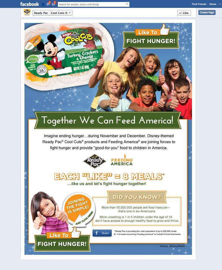 Ready Pac Foods enters Disney partnership with Feeding America