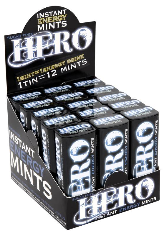 Hero Instant Energy Mints