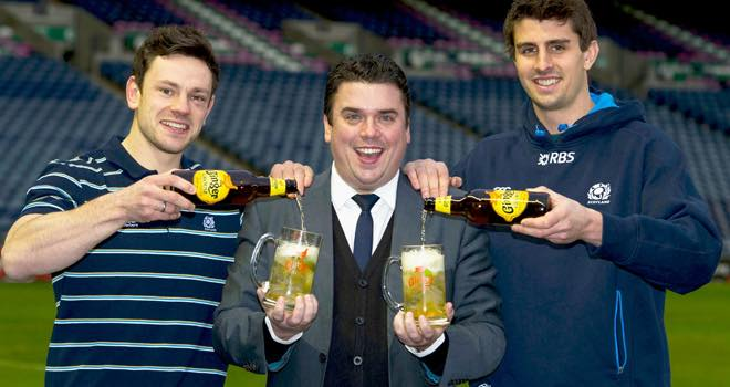 Ginger Grouse named as official Whisky partner of Scottish rugby