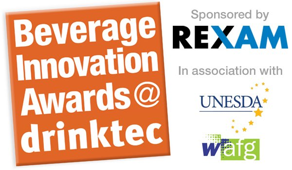 Beverage Innovation Awards @ Drinktec sponsored by Rexam