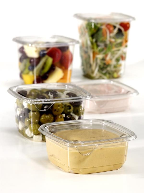 Tri-Pack containers with SureStrip