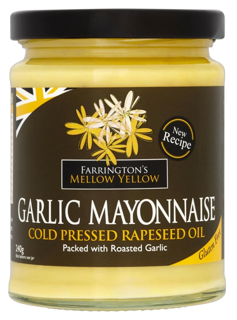 Mellow Yellow Garlic Mayonnaise by Farrington Oils