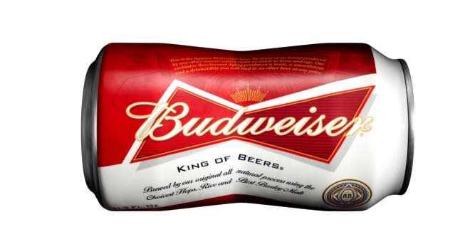 Budweiser set to introduce its bow-tie-shaped can