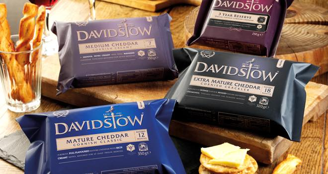 Davidstow Cheddar relaunches with two new cheeses