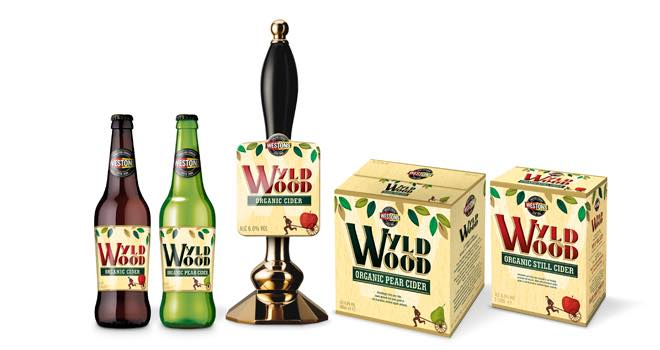 Bos redesigns Westons Wyld Wood Organic Cider