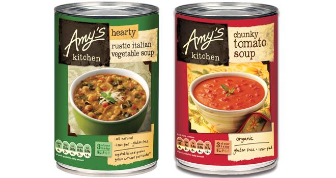 Amy's Kitchen extends Asda listing with six free-from soups