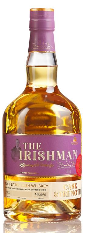 The Irishman Small Batch Irish Whiskey Cask Strength