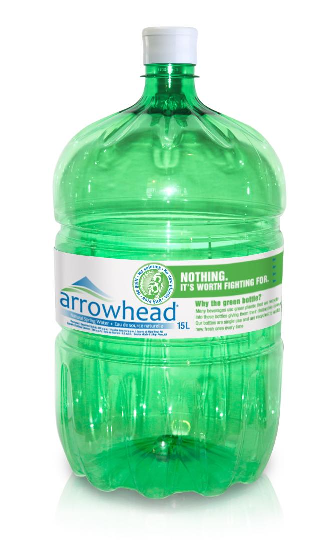 Ice River Springs launches 15-litre green bottle for water coolers