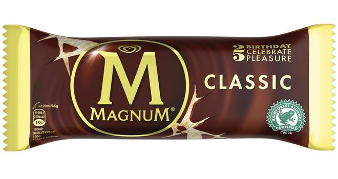 Unilever spends £13m to celebrate Magnum's 25th birthday