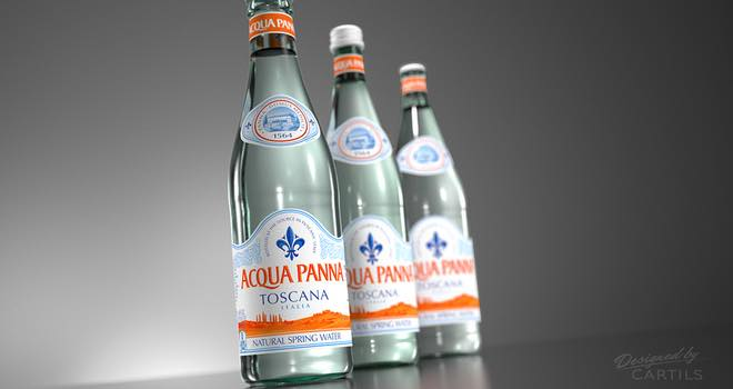 Acqua Panna Still Water Brand Is Redesigned By Cartils