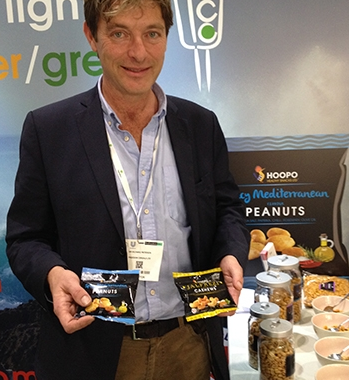 Hoopo Health Snack's Richard Paterson talks about Hoopo low salt snacks