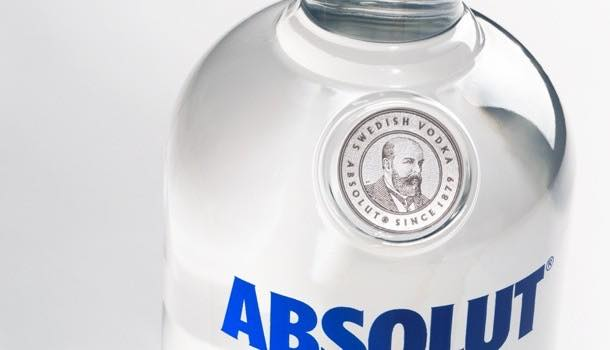 Absolut vodka unveils redesigned bottle