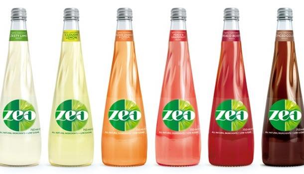 Soft drinks brand Zeo launches new flavours and packaging design