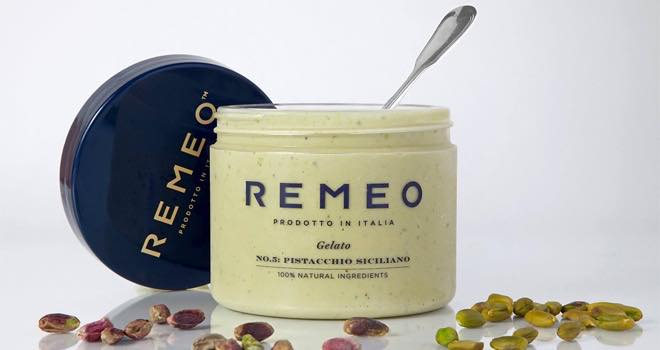 Remeo extends artisan gelato range with new Sicilian pistachio flavour