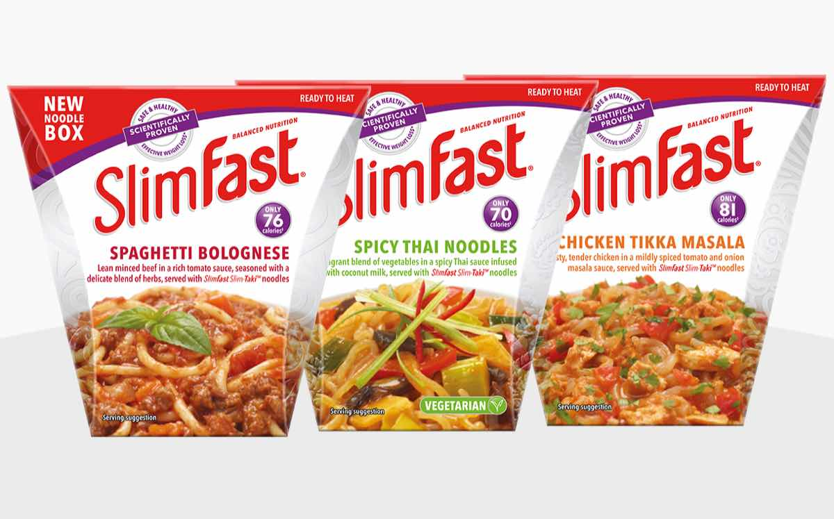 SlimFast relaunches weight loss brand with new noodle ...