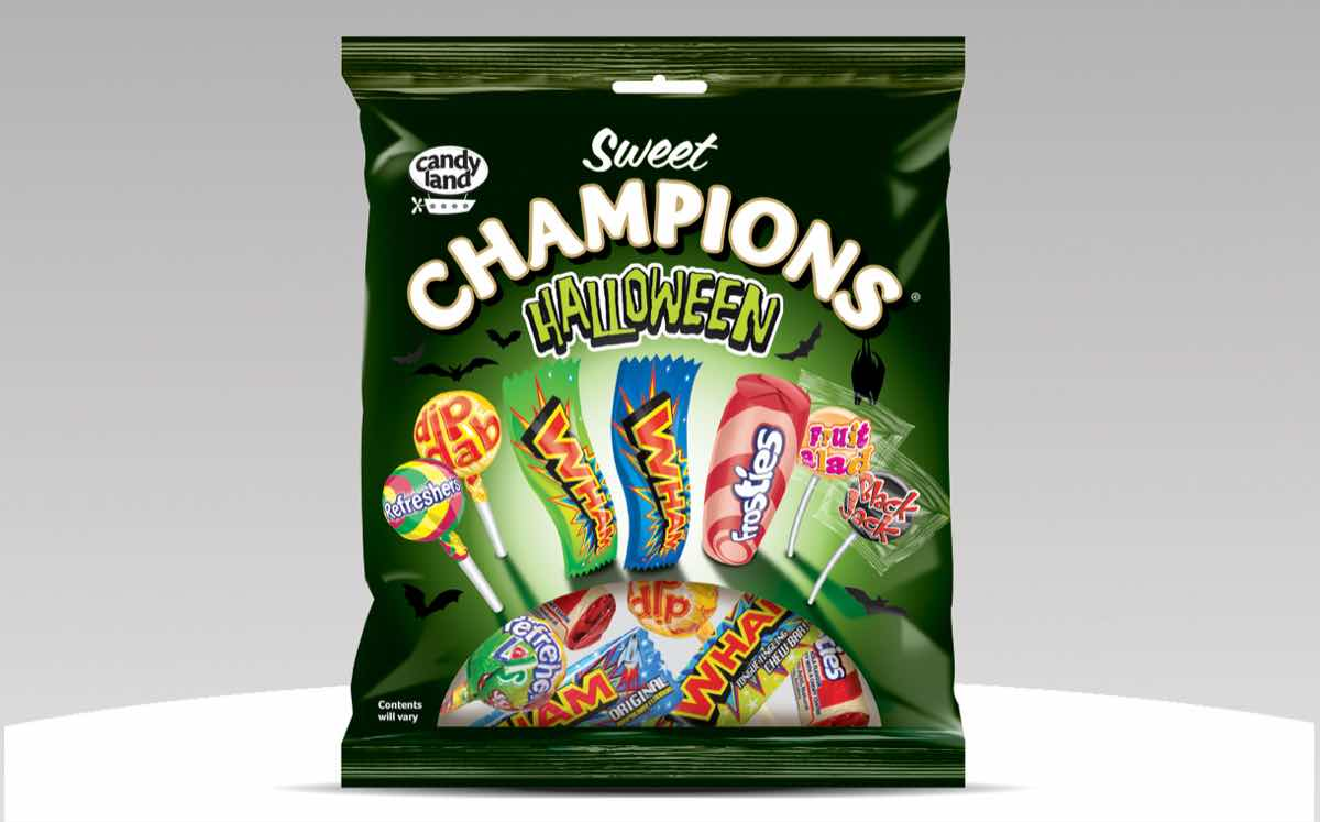Tangerine Confectionery launches Halloween sharing pouch and bag