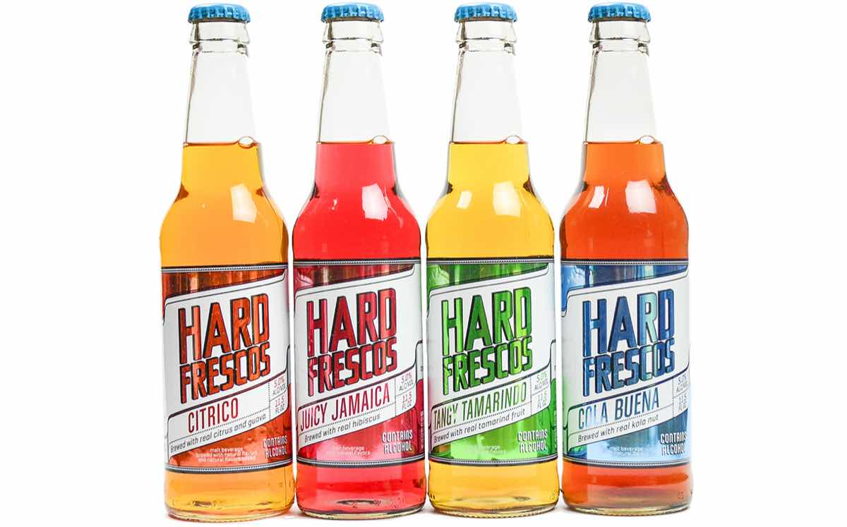 Hard Frescos Mexican Inspired Natural Alcoholic Soda