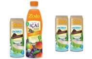 Zola releases flavoured coconut water and mango-chia açaí juice