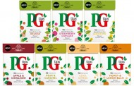 PG Tips broadens green and fruit tea ranges with new flavours