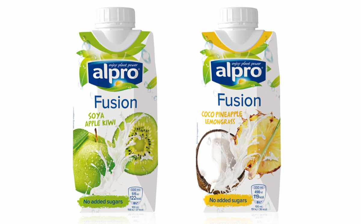Alpro unveils new range of on the go soya and coconut for Alpro soya cuisine