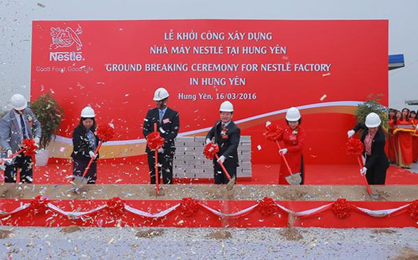 Nestlé breaks ground on $70m nutrition plant in north Vietnam