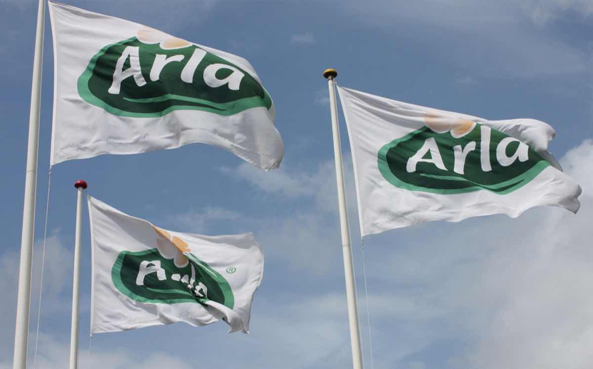 Arla Foods to share payment of 124m euros between farmers