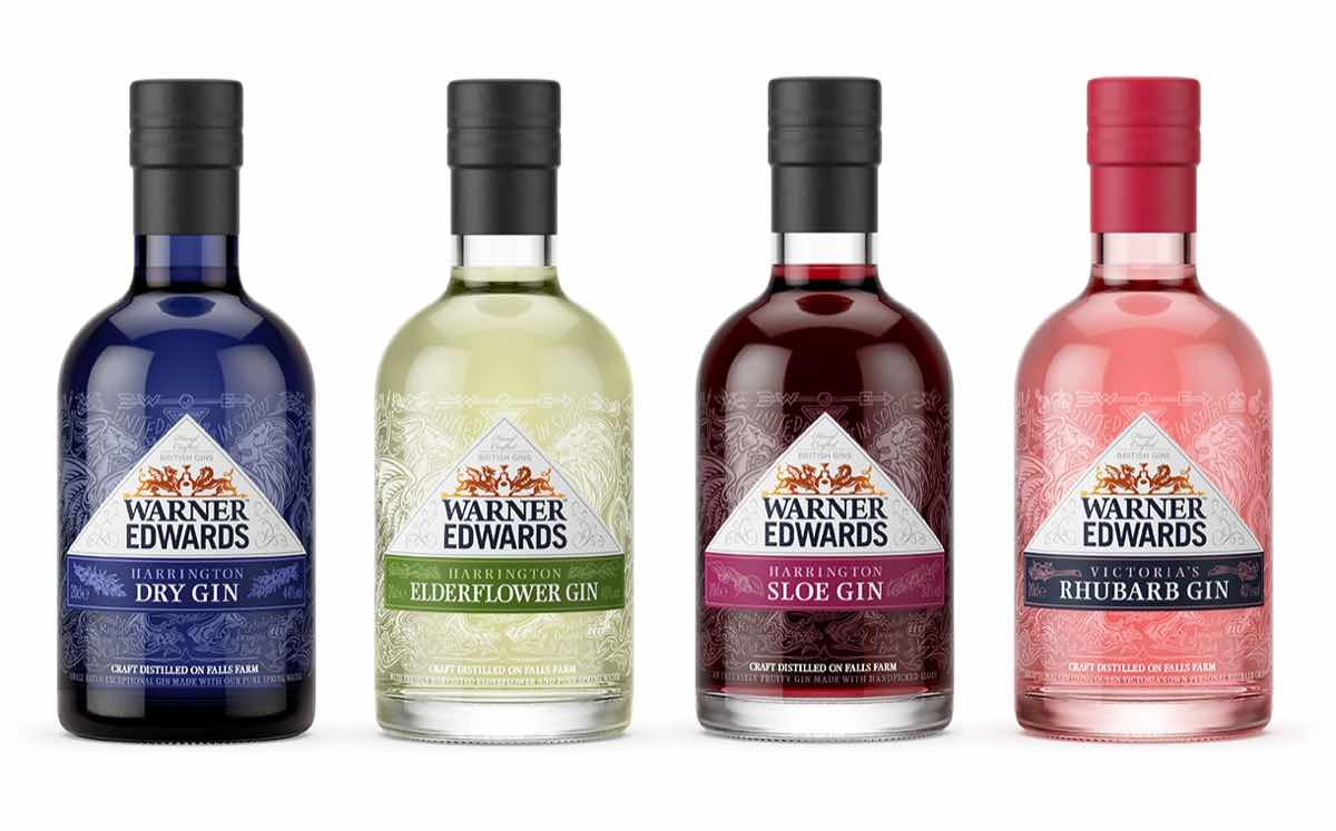 Warner Edwards Launches Its Famous Gins In Mini Bottles