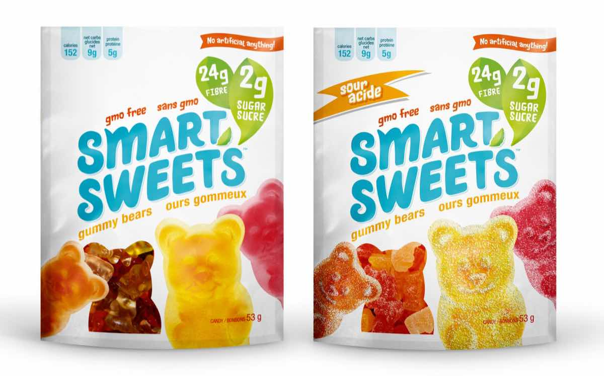 Smart confectionery with just 2g of sugar launches in canada foodbev media - Five smart uses of sugar ...
