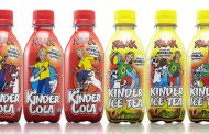 Kinder Cola rolls out shrink sleeve labels from Constantia