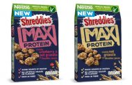 Nestlé launches high-protein granola with Shreddies pieces