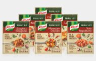 Stock brand Knorr launches debut range of dry recipe mixes