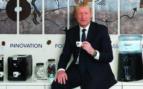 'Every office in the world needs a water and coffee solution' - Eden Springs CEO