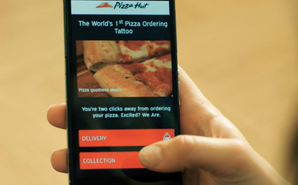 how to order pizza hut by phone