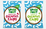 Snack brand Urban Fruit launches duo of all-natural coconut chips