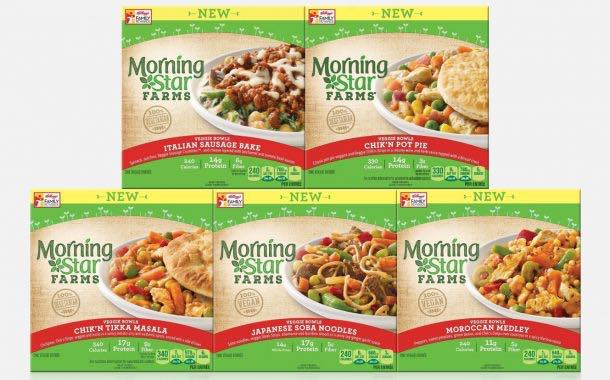 Morning Star Farms brings out five more vegetarian meal bowls