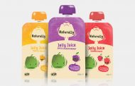 Naturelly refreshes jelly juice packaging with fresh design