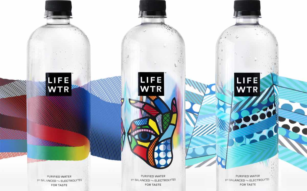 PepsiCo launches new premium bottled water range featuring label designs by emerging artists