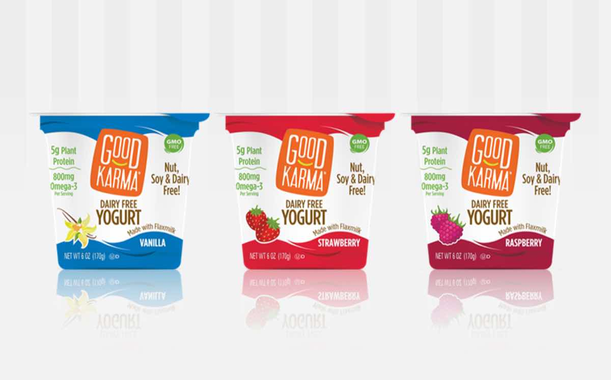 Good Karma Foods launches line of dairy-free flax milk yogurts