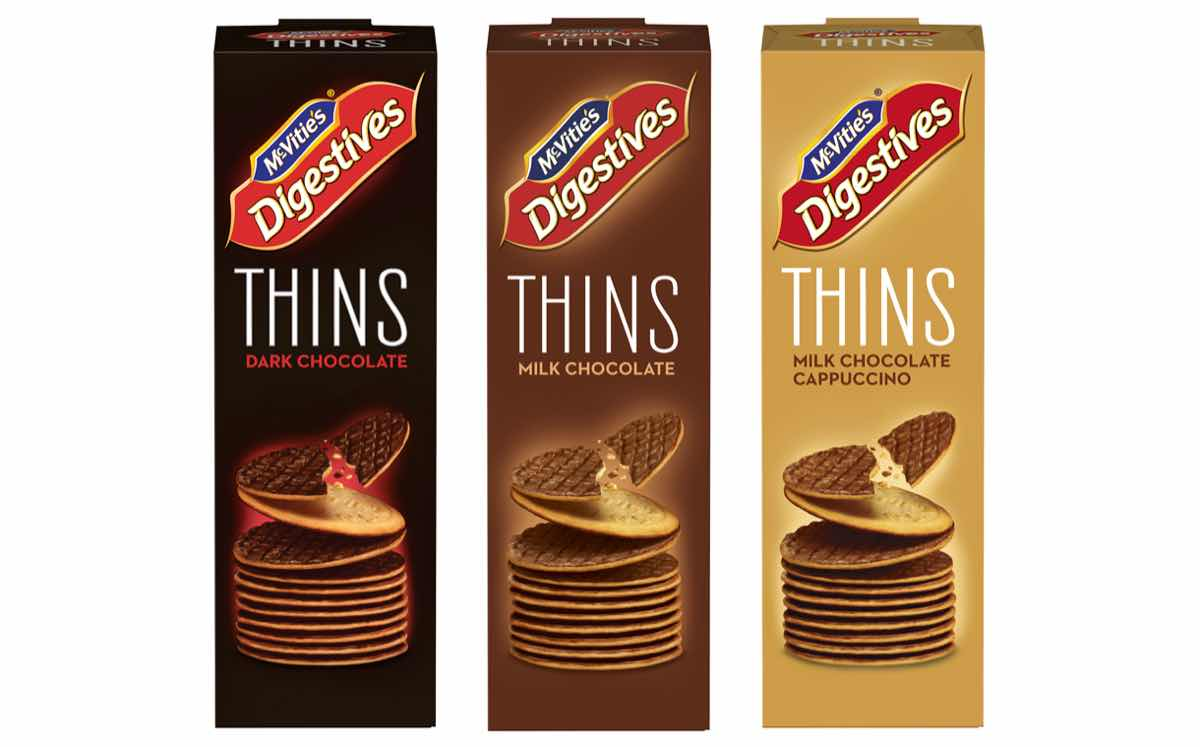McVitie's adds 'thinner, healthier' version of its Digestive biscuits