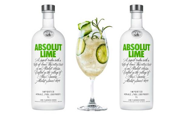 Absolut launches lime-flavoured vodka in time for the Grammys