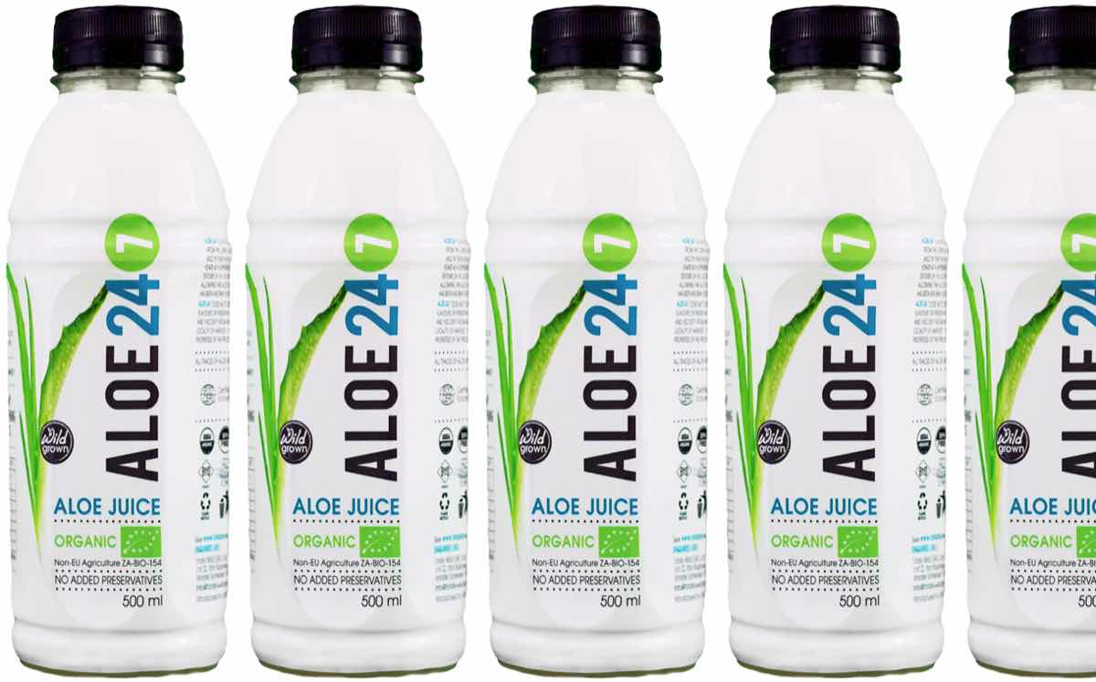 Totally Wild unveils organic aloe juice made from aloe ferox