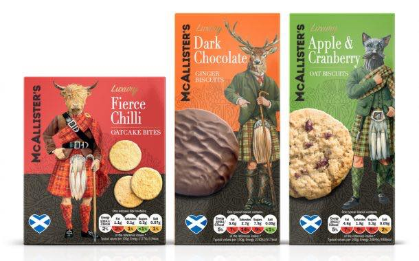 Lidl launches McAllister's range of premium Scottish biscuits