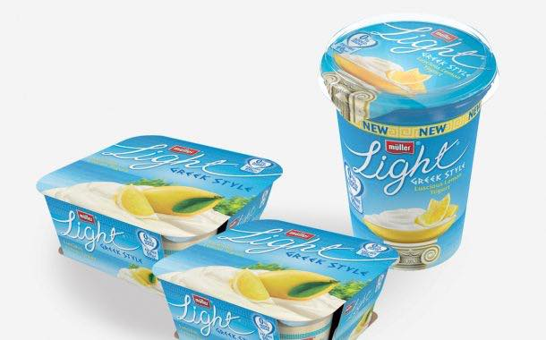 Müller launches campaign for reformulated Greek-style range