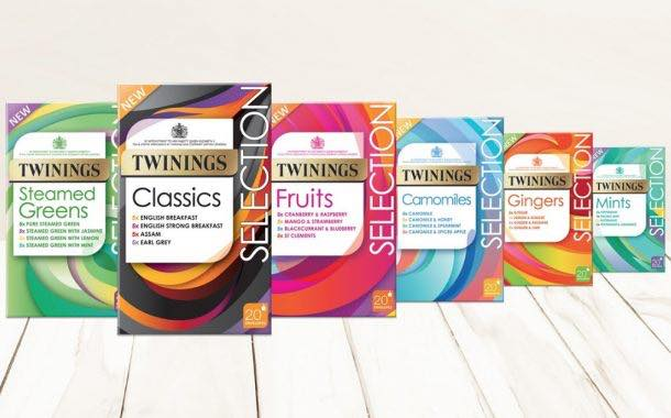 Twinings unveils range of packs with selection of different teas