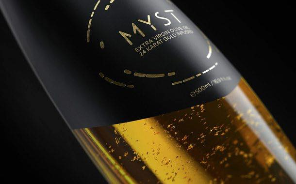 Greek producer releases virgin olive oil infused with real gold