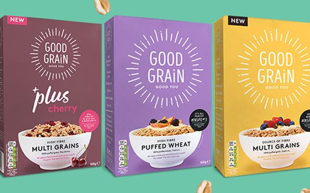 Good Grain relaunches healthy cereals and adds 2 more variants
