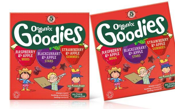 Organix Goodies to launch mixed flavour Fruit Gummies multipack