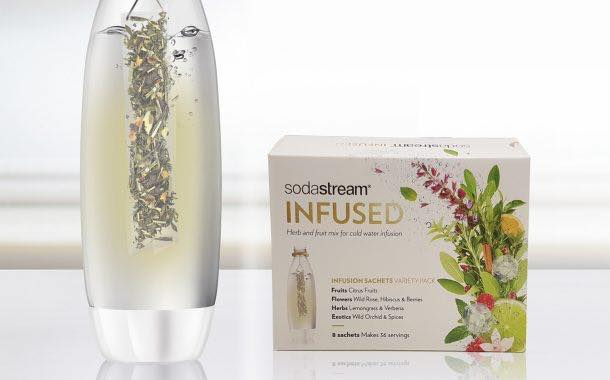 SodaStream unveils new fruit and herb infusions inspired by tea
